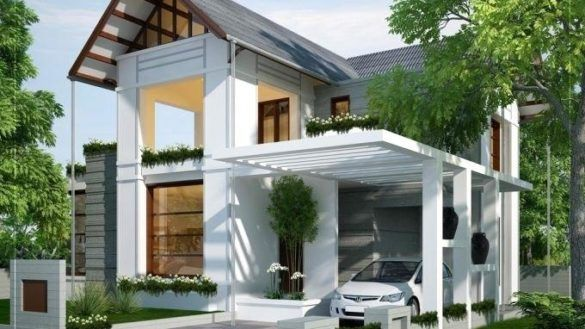 34 Inspirations For Minimalist Carport Design Carport Designs Small House Design House Front