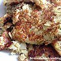 Recette n°52: Rosti de pommes de terre à la Vache Qui Rit.