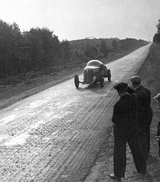 ГАЗ ГЛ-1 / GAZ GL-1 - When Arkady Nikolaev breaking the speed record of USSR. 161,82 kph in 1940.