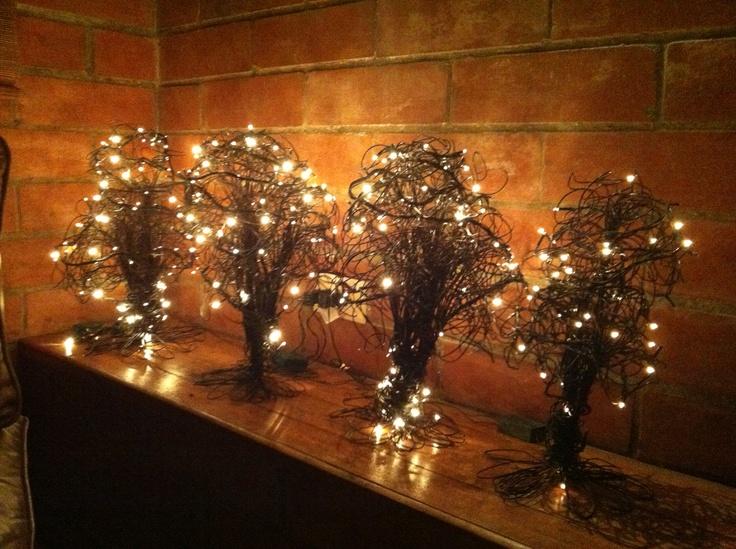 mis preferidos estos son los mios y todo el año van a estar prendidos como unas velas ... para que mi energía este bien