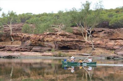 Kalbarri Canoe Safari, call 9937 1104 to book, www.kalbarri.org.au