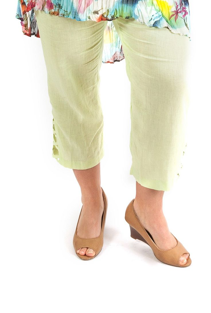 Plus Size Pants | 3/4 pants and Capri pants for women NZ - Goddess On The Go Criss-Cross Pant