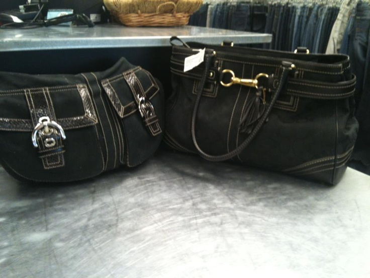 Black Coach Purses