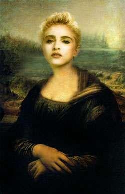 Madonna | Mona Lisa (c.1503-19) by Leonardo da Vinci