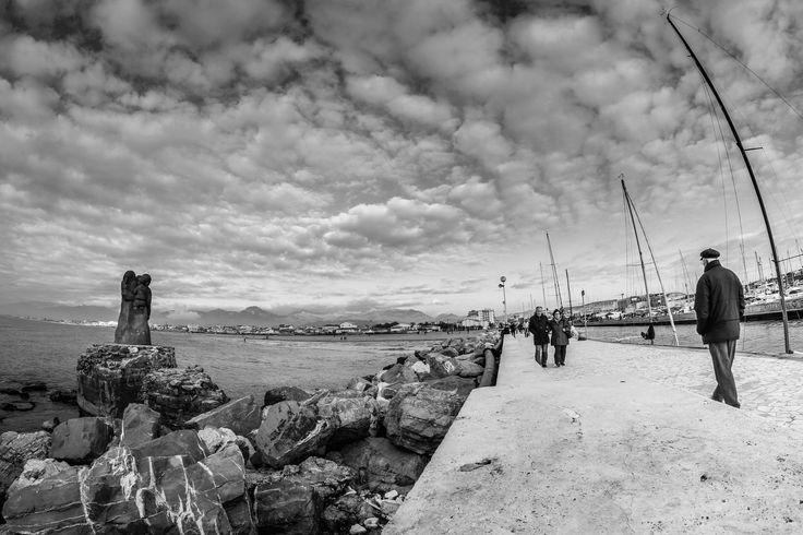 For a walk - Viareggio,28/12/2015  photo by Khalil Emede