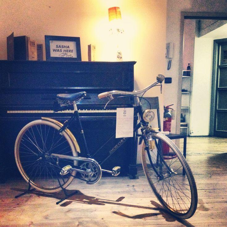Ciclografica @ Santeria #bici #bike #vintage #retro #type #custom #milan