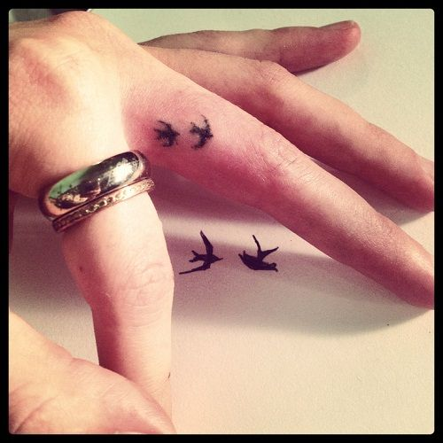 100 Small Bird Tattoos Designs with Images - Piercings Models