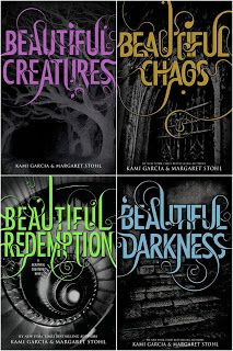 Beautiful Creatures Series. Just finished book one. A-mazing. Freaking out in limbo until I get book two.