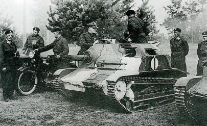 Polonia carros tipo francés