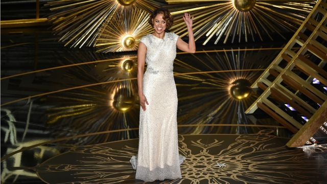 What was Stacey Dash doing at the Oscars?