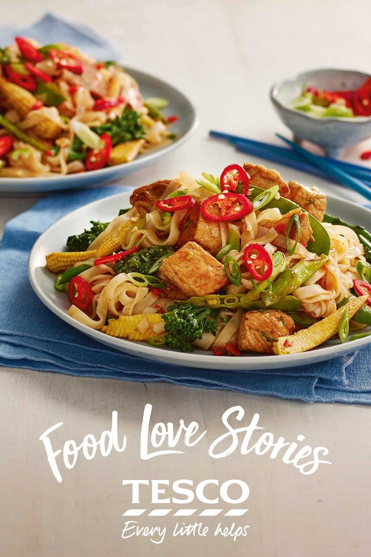 When Ella from our Food Love Story is thinking of an easy midweek meal, there's nothing better than a low-effort but tasty stir fry that leaves one hand free for mum duties.   Tesco