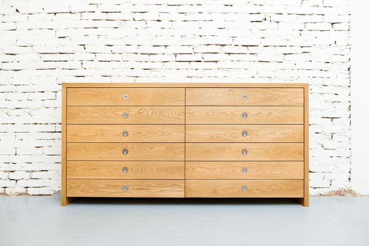 Chest of drawers oak - barlang muhely