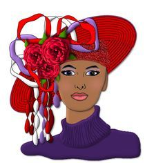 red hat society clip art red hat ladies