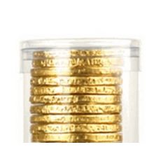 10-pc Chocolate Coin Tube
