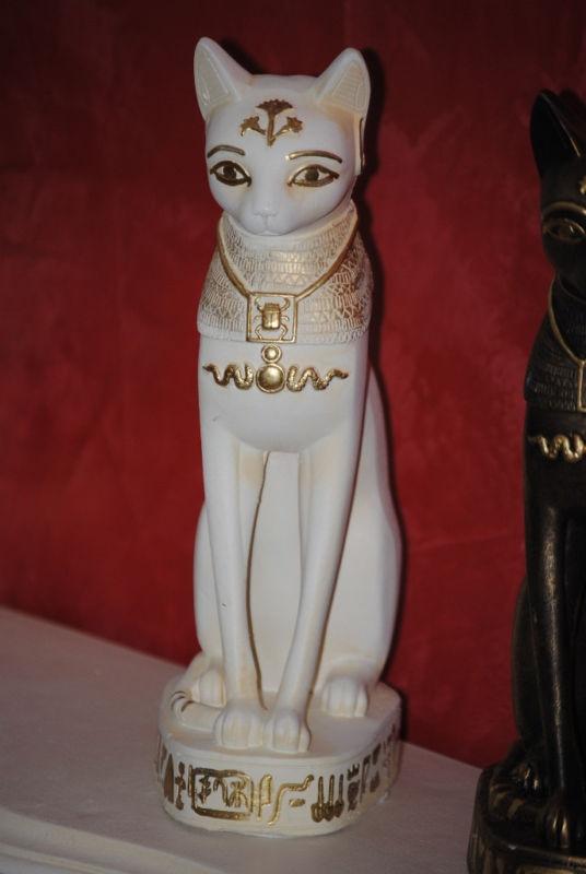 ÄGYPTISCHE GÖTTIN KATZE BASTET KATZEN FIGUR 2805-108 | eBay