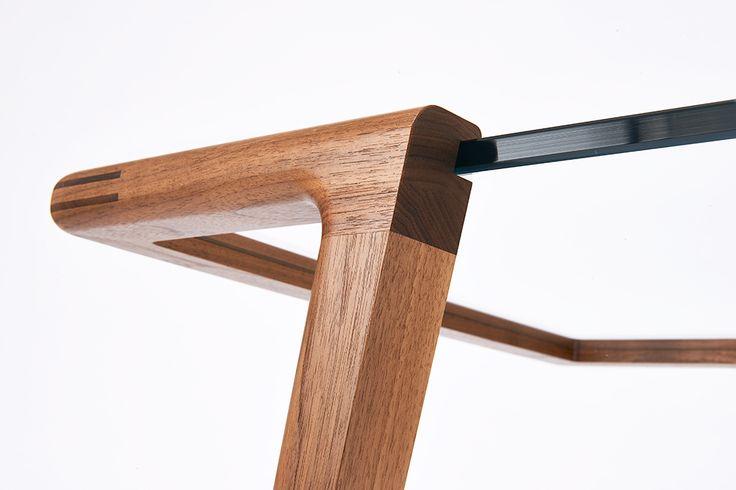 handmade — Horizon table 2013 American Black Walnut 12mm CNC...