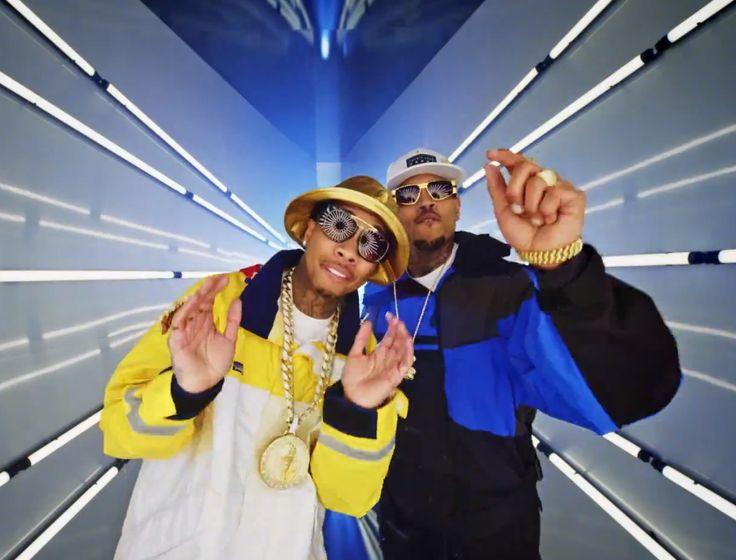 Watch Chris Brown and Tyga's new music video 'Ayo'.....  Money, Hoes, LAMBORGHINI's, Bentley's, Margielas