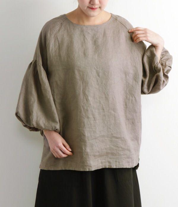 【再入荷アイテム】【リンネル掲載】【別注】ドルマンスリーブプルオーバー(C・レッド)【リンネル掲載別カラー】|ゼロハチマブのシャツ・ブラウス通販 ナチュラン