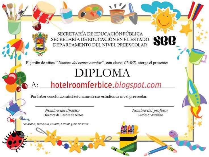 Diplomas Para Editar En Power Point Gratis Imagui Modelos De