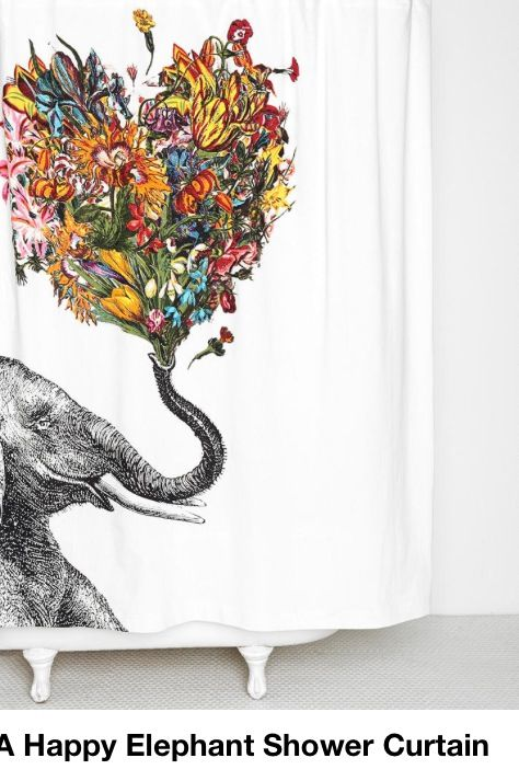 Shower curtain!