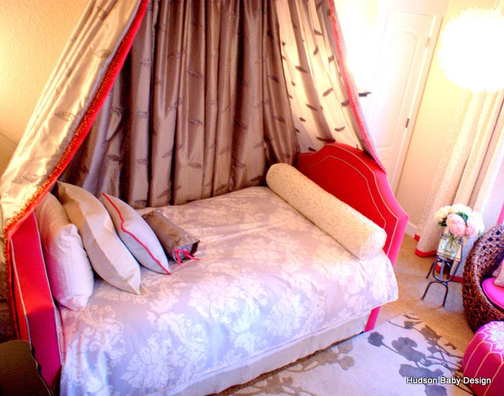 Hudson Baby Design... custom princess bed