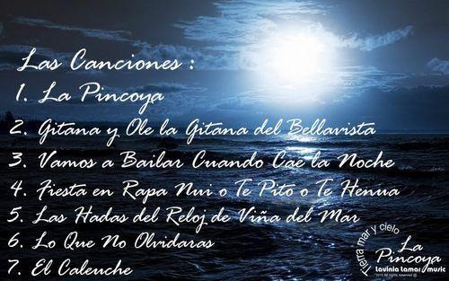 AlbumTierra mar y cielo el 1er album de compositora Lavinia Lamar ,comparte y descarga