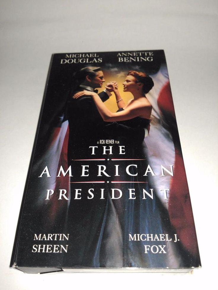 The American President (VHS, 1996) Michael Douglas  VCR Tape Movie