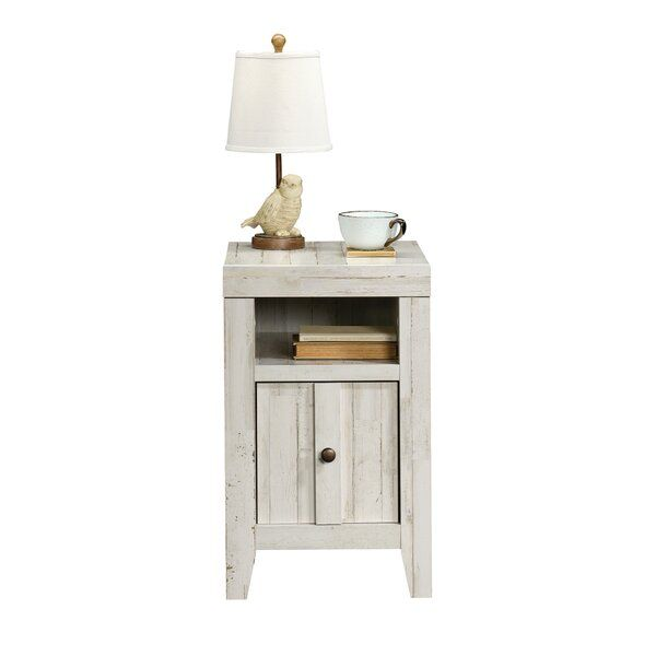 Greyleigh Riddleville 4 Legs End Table With Storage End Tables With Storage End Tables Rustic End Tables