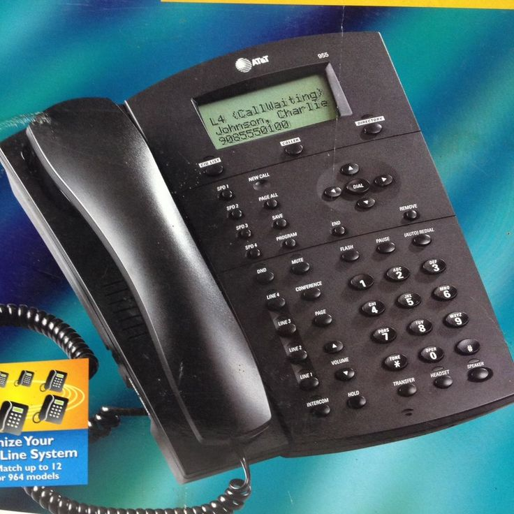 4 line Caller ID/call waiting capability. Hands-free speaker phone. 3 party conferencing. | eBay!