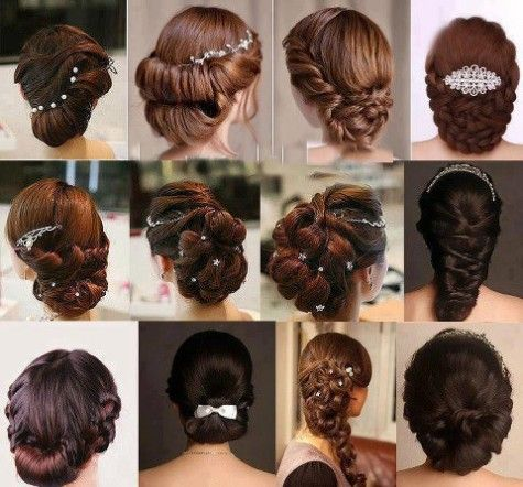 Wedding-Bridal-Party-New-Stylish-Beautiful-Hairstyles-Fashion-for-Girls-Women-11
