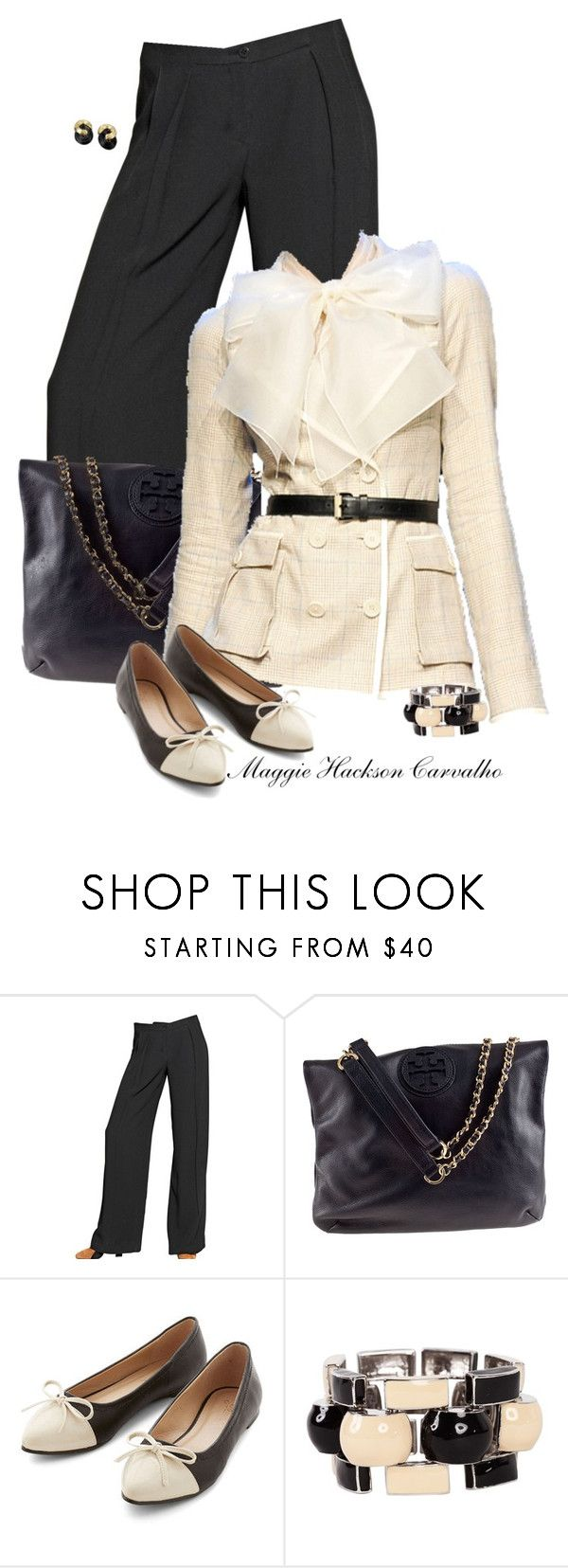 """""""• Work Wear •"""" by maggie-jackson-carvalho on Polyvore featuring Emporio Armani, Tory Burch, Jason Wu and J.W. Anderson"""