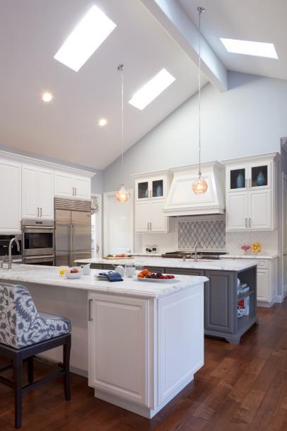 Die besten 25+ Transitional skylights Ideen auf Pinterest Master - wohnzimmer mit offener küche