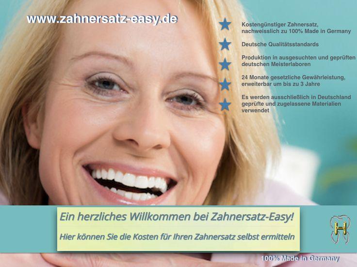 Ihr online Kalkulator für Kronen und Brücken. 100% Made in Germany