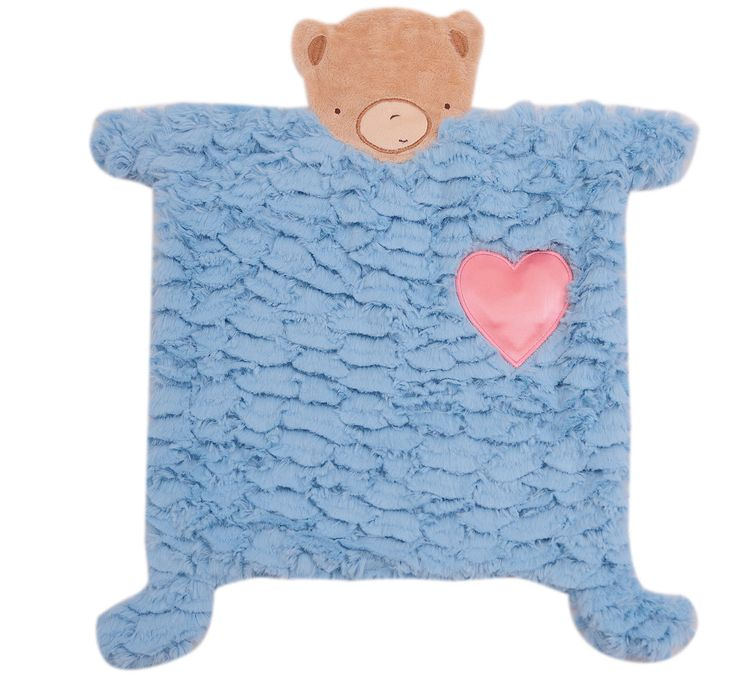 """It lights up and says """"I love you daddy"""" in English, Spanish and French. Http:shop.merdyinc.com Heart Security Blanket 2D Boy - Merdy Manufacturing and Importing Inc"""