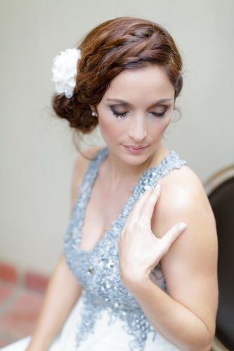 Bespoke Blooms Real Wedding Shoot. Make-up by Hayley Clarke Hair by Sneak Preview