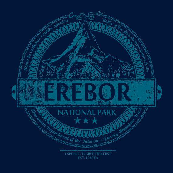 Erebor National Park Tolkien / Hobbit inspired by GrumpyGeeks