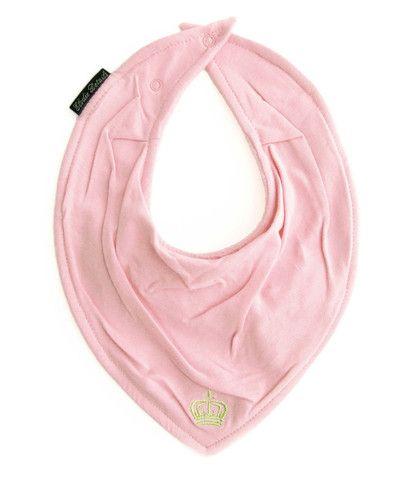 Baby Bandana Bib - Petit Royal Pink – Baby Luno