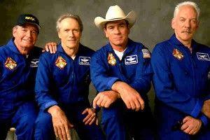 Homenaje póstumo realizado desde Canal Osera a James Garner, en esta foto, en la película Space Cowboys.