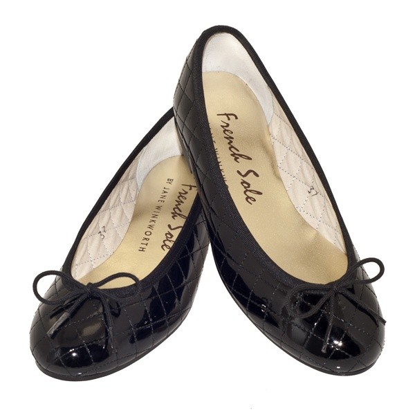 Mom and Dad gave me a birthday gift card for French Sole - bought a pair of black patent leather Henriettas! Adorable.