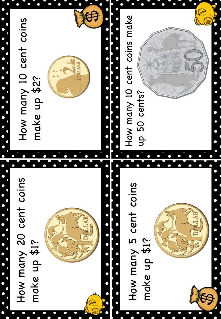 51 best Maths Money images on Pinterest
