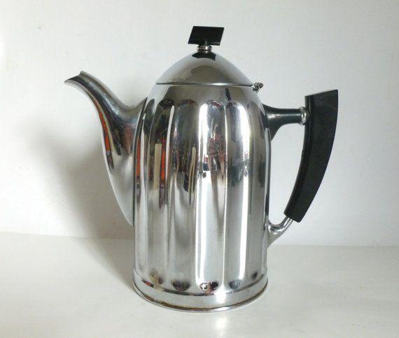 how to clean chrome teapot