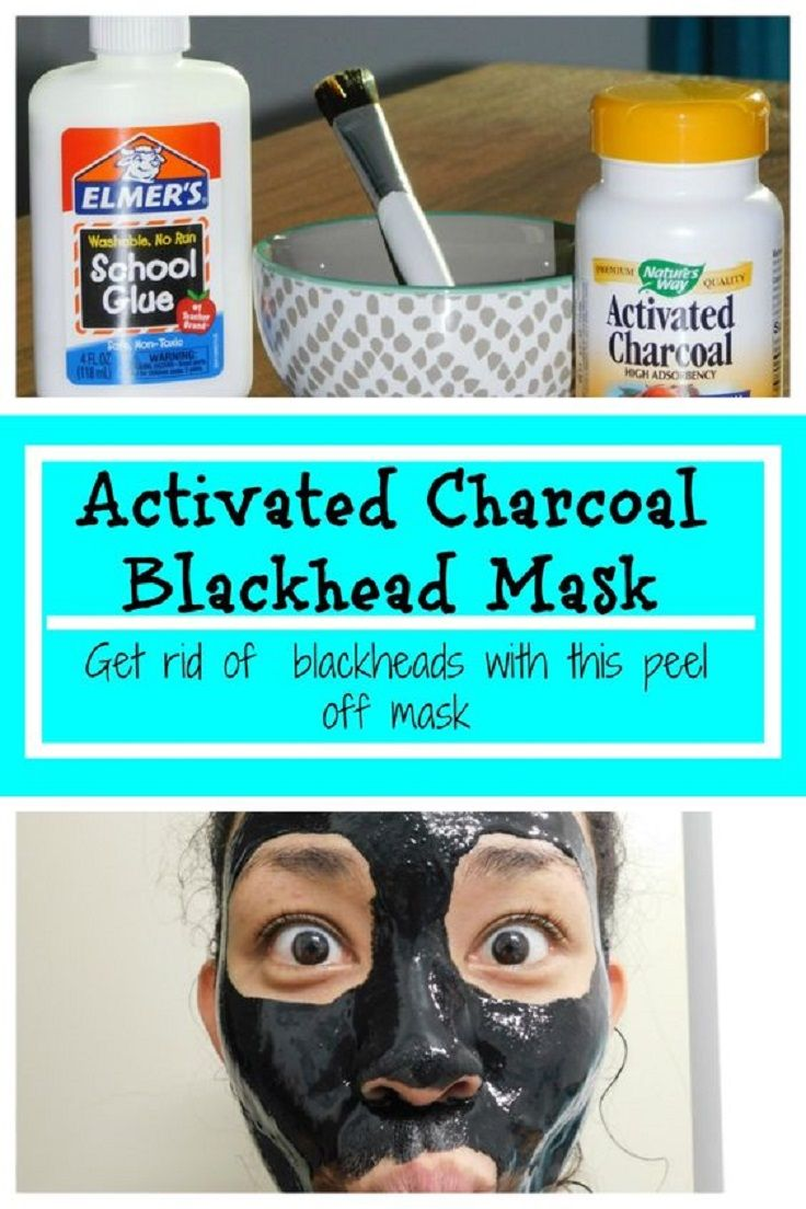 Amazing Blackhead Remover Charcoal Mask - 15 Best DIY Charcoal Mask Recipes and Beauty Products