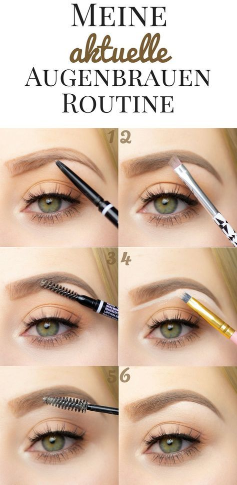My current eyebrow routine