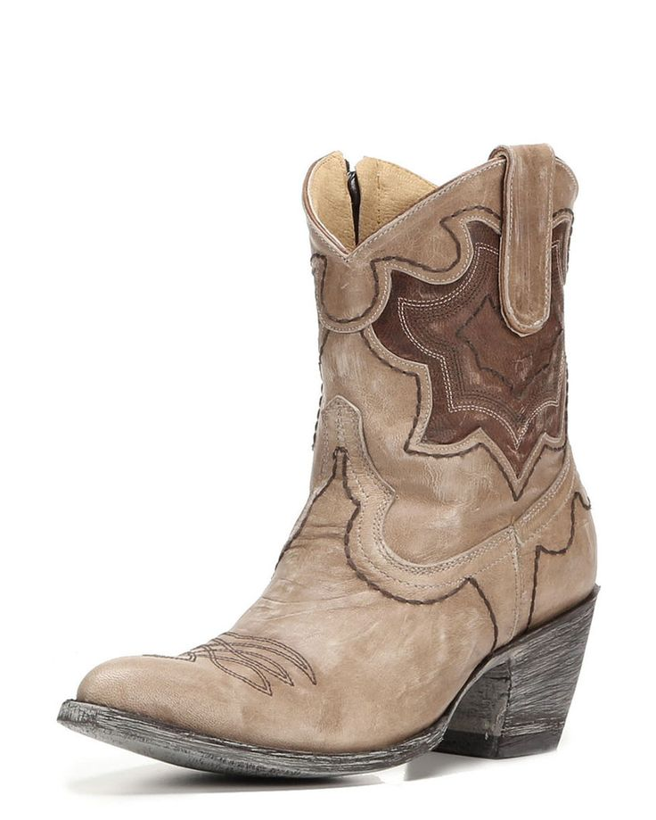 Wear these trendy Creta boots to create a gorgeous cowgirl look! Handcrafted, the leather uppers have been designed to showcase decorative embroidered contrast shafts. They also feature side zipper closures to allow for easy dressing and secure fitting, smooth leather lining and cushioned footbeds provide comfort, and leather soles make for confident strides.