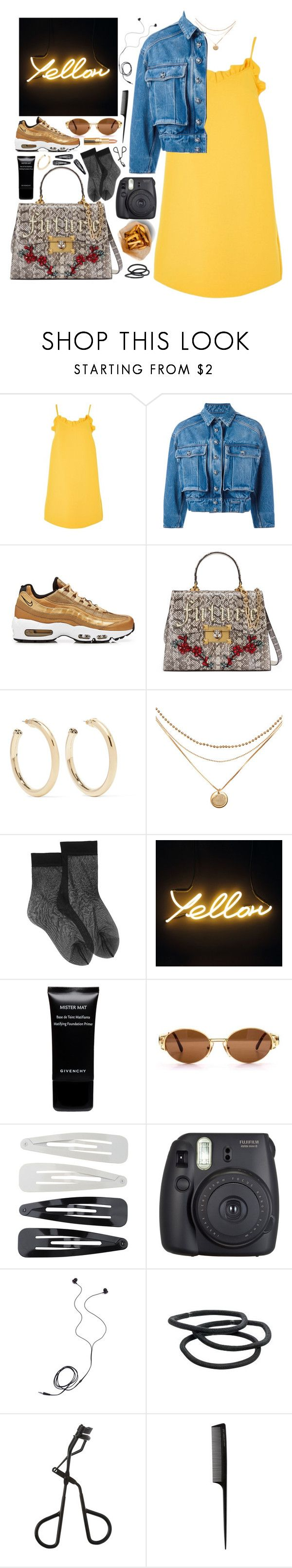 """Geen titel #555"" by s-ensible ❤ liked on Polyvore featuring Topshop, Dolce&Gabbana, NIKE, Gucci, Kenneth Jay Lane, Givenchy, Forever 21, Fuji, Diane Von Furstenberg and Goody"