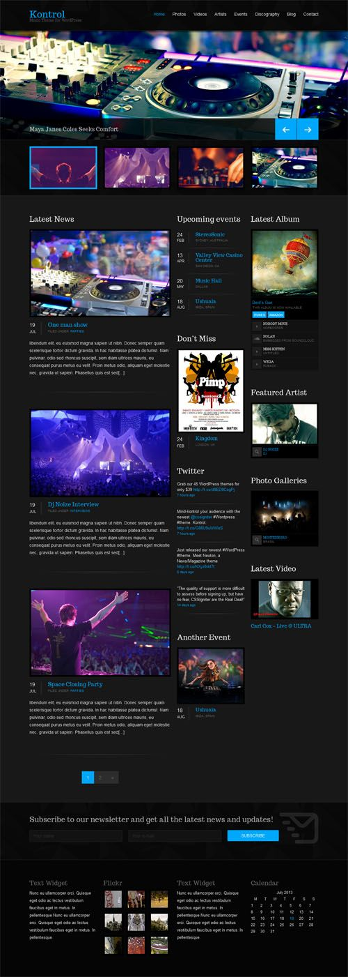Mejores 228 imágenes de Premium WordPress Themes en Pinterest ...