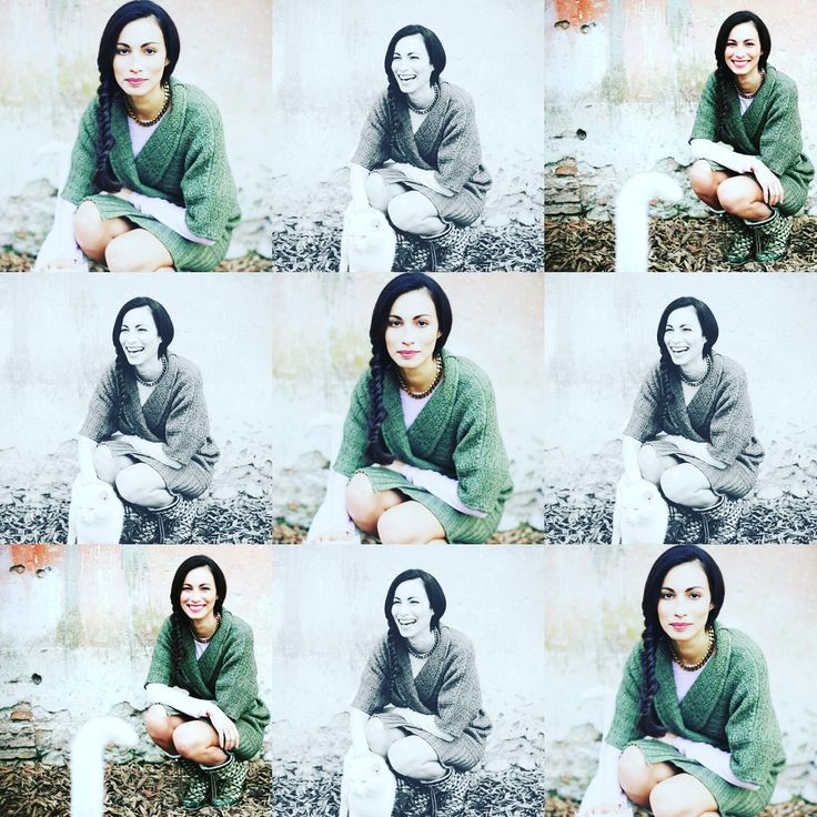 foto collage color and smile