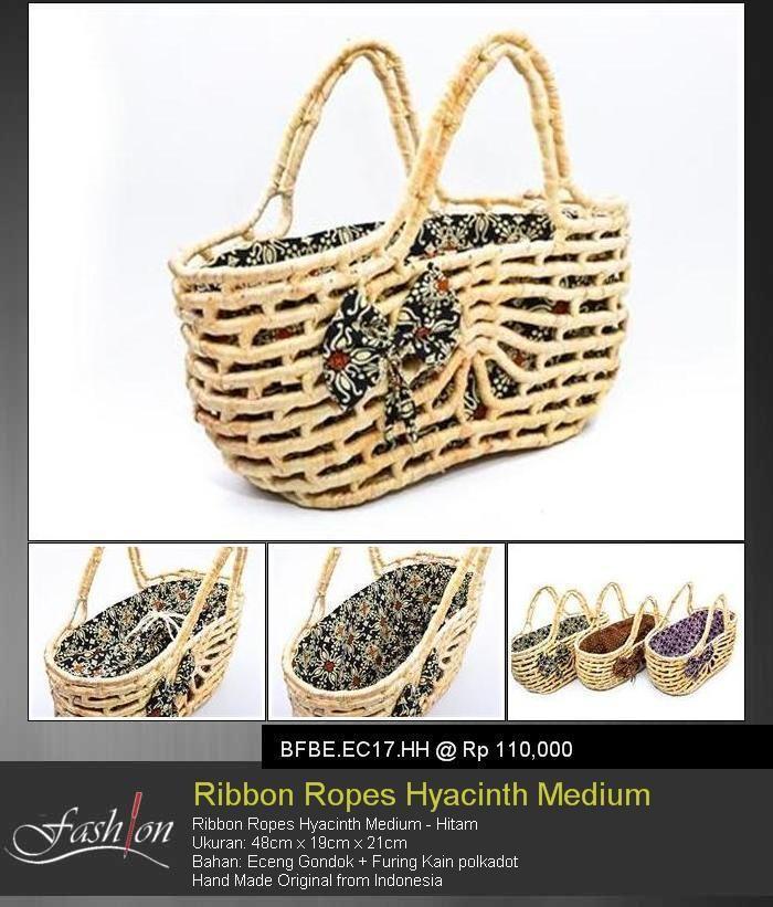 Ribbon Ropes Hyacinth Medium Green