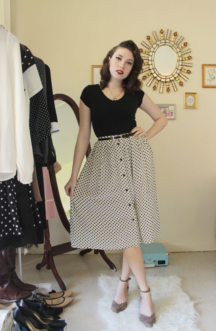 \u003c3 this look from the ModCloth Style Gallery! Cutest community ever. indie