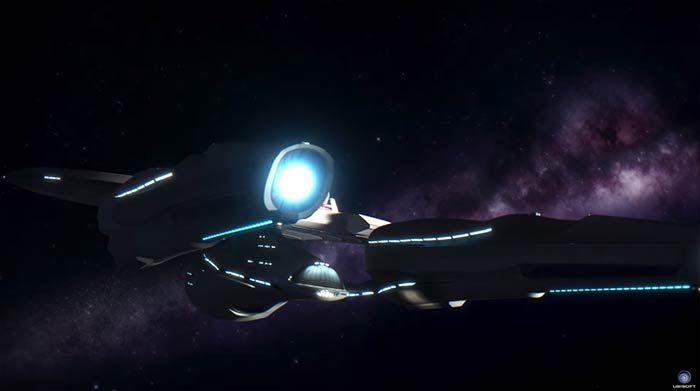 Les démos de réalité virtuelle sur le stand Nvidia à l'E3 - Il n'y a pas de meilleur endroit que sur le stand NVIDIA à l'E3 pour en prendre plein la vue. Les visiteurs peuvent jouer au nouveau jeu de réalité virtuelle Star Trek, Star Trek : Bridge Crew.